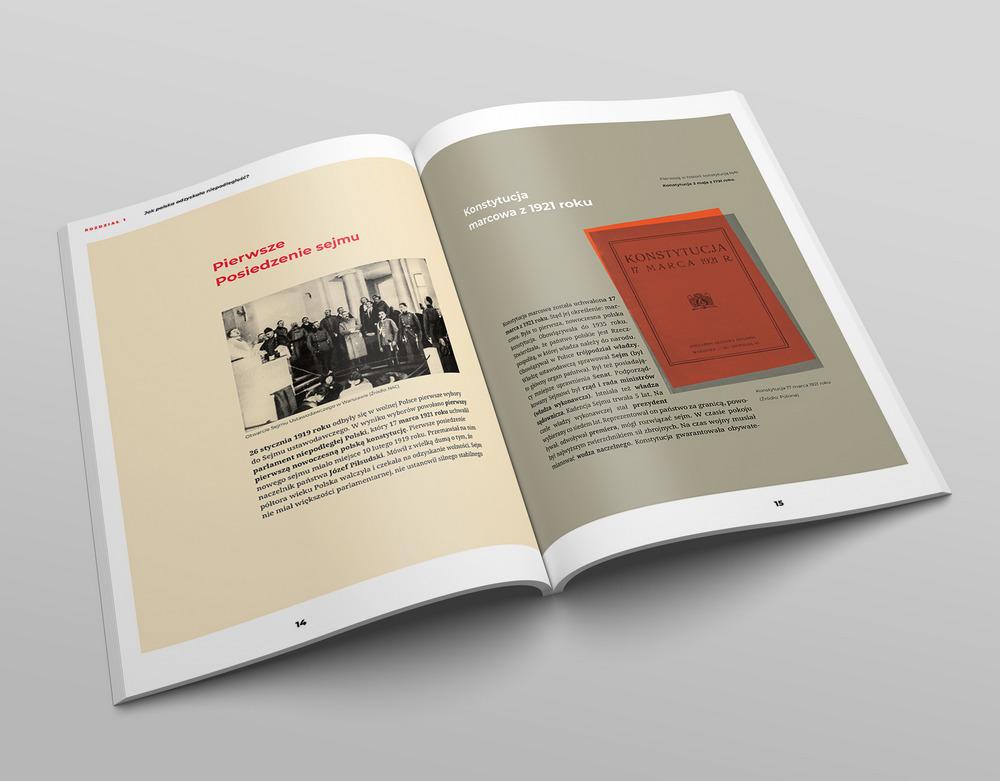100 Lat niepodległej Polski projekt książki