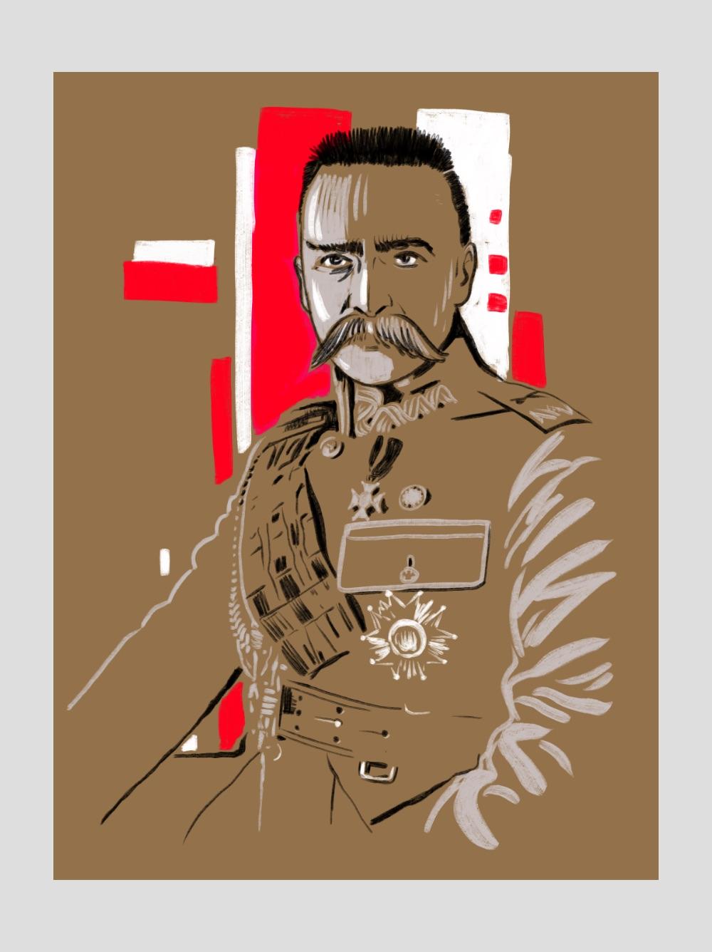100 Lat niepodległej Polski ilustracja