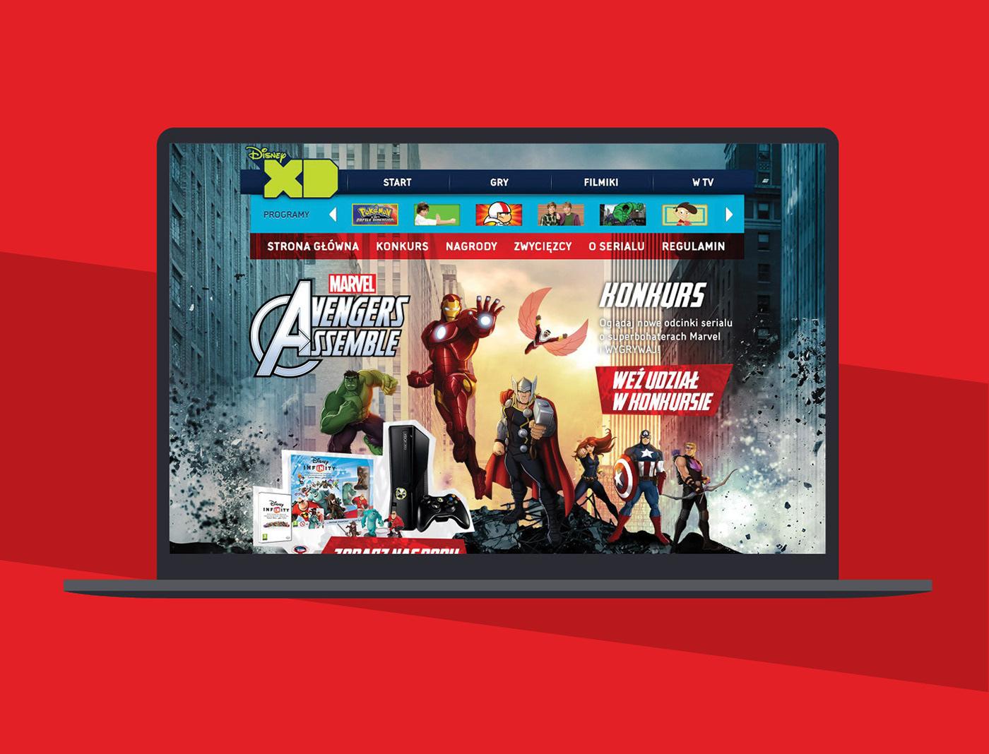 The Walt Disney Company konkurs Avengers Assemble