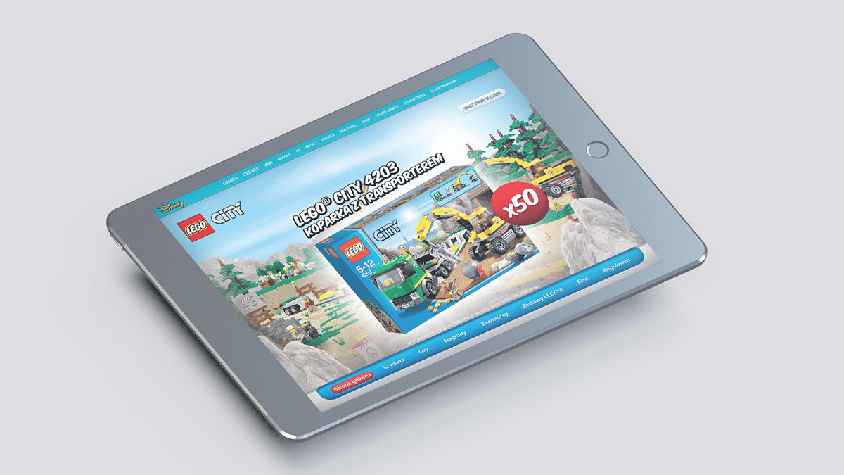The Walt Disney Company konkurs LEGO City