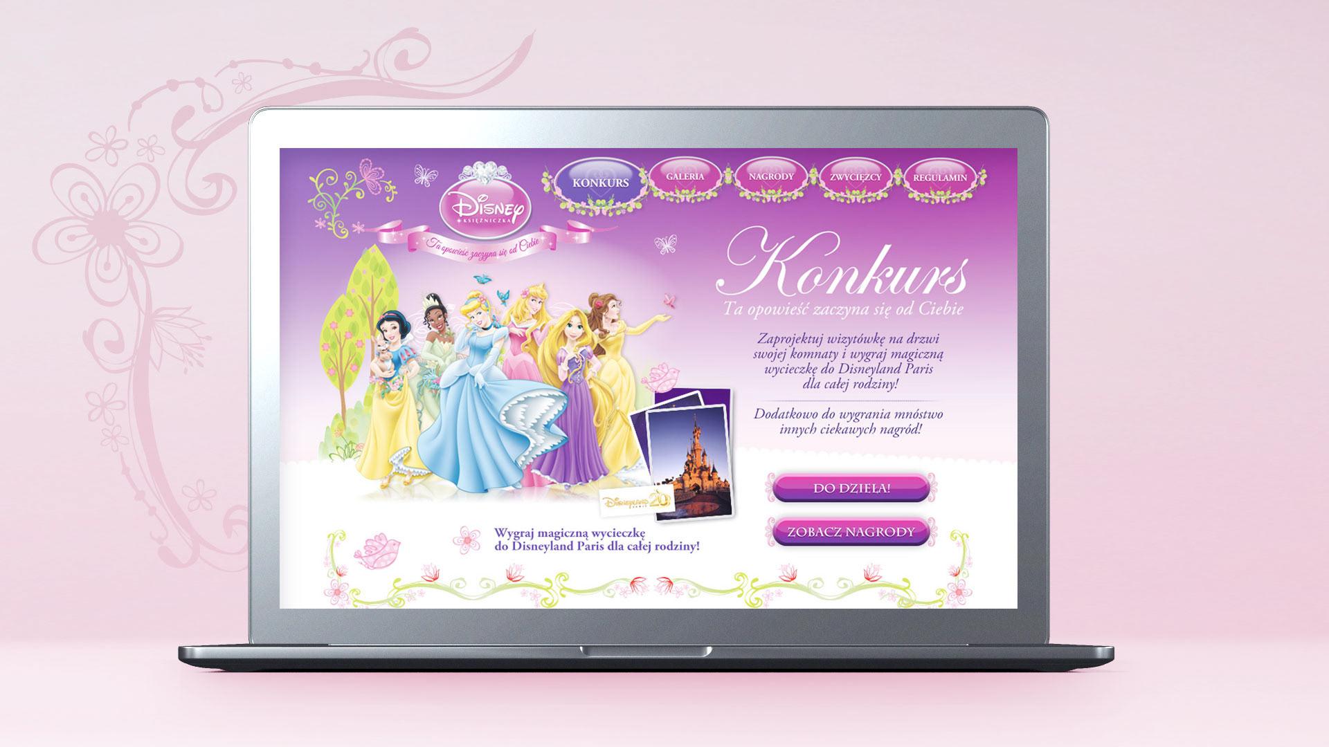 The Walt Disney Company konkurs Księżniczki