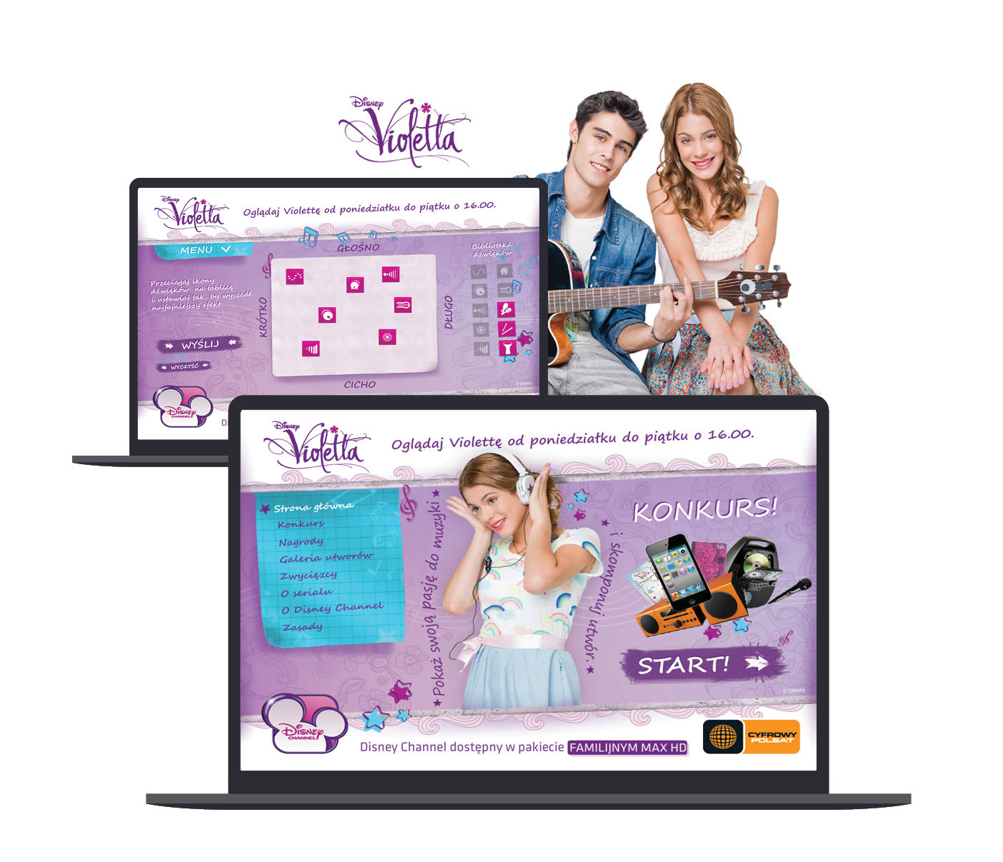 The Walt Disney Company konkurs Violetta Cyfrowy Polsat