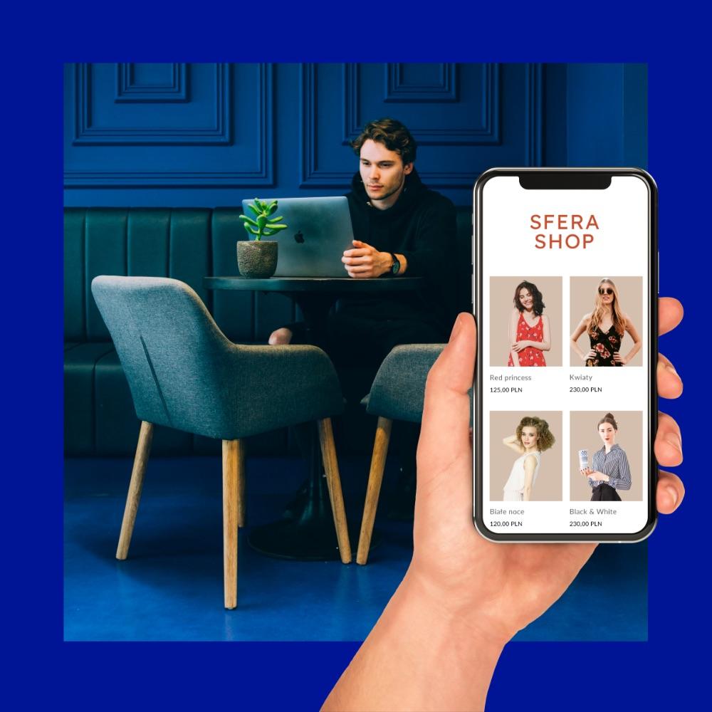 Sklep dostępny na smartfonach